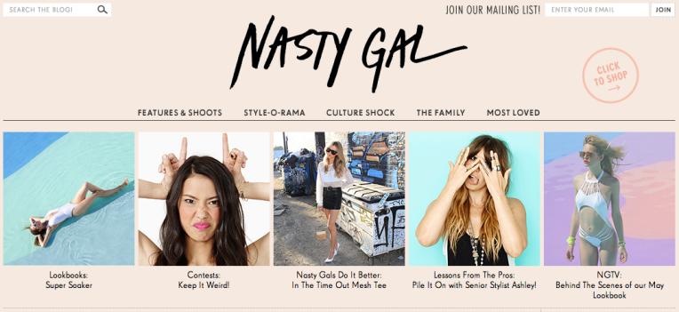 Nasty Gal Blog