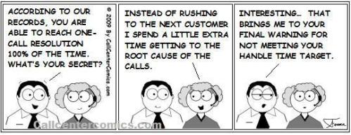 One Call Resolution