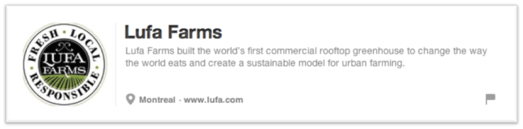 Lufa Farms Bio