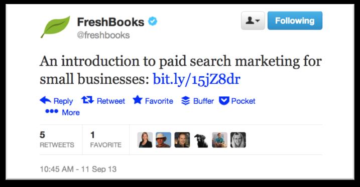 FreshBooks Social Media Audit Danielle Geva