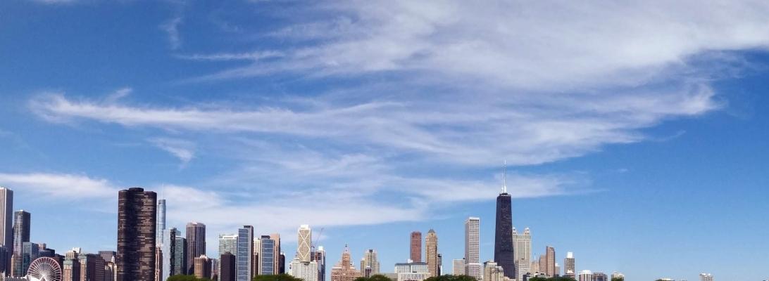 chicago skyline danielle geva