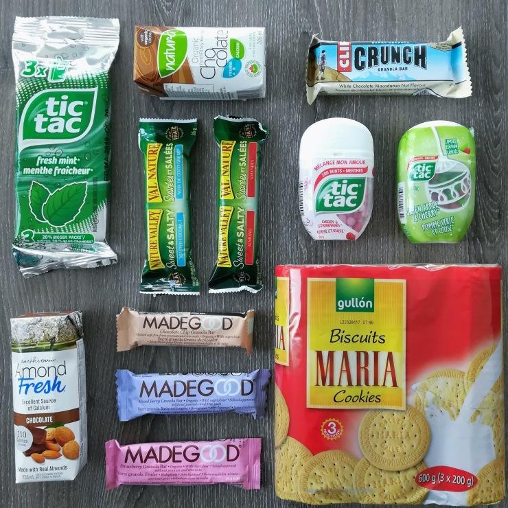Danielle Geva Travel Snacks
