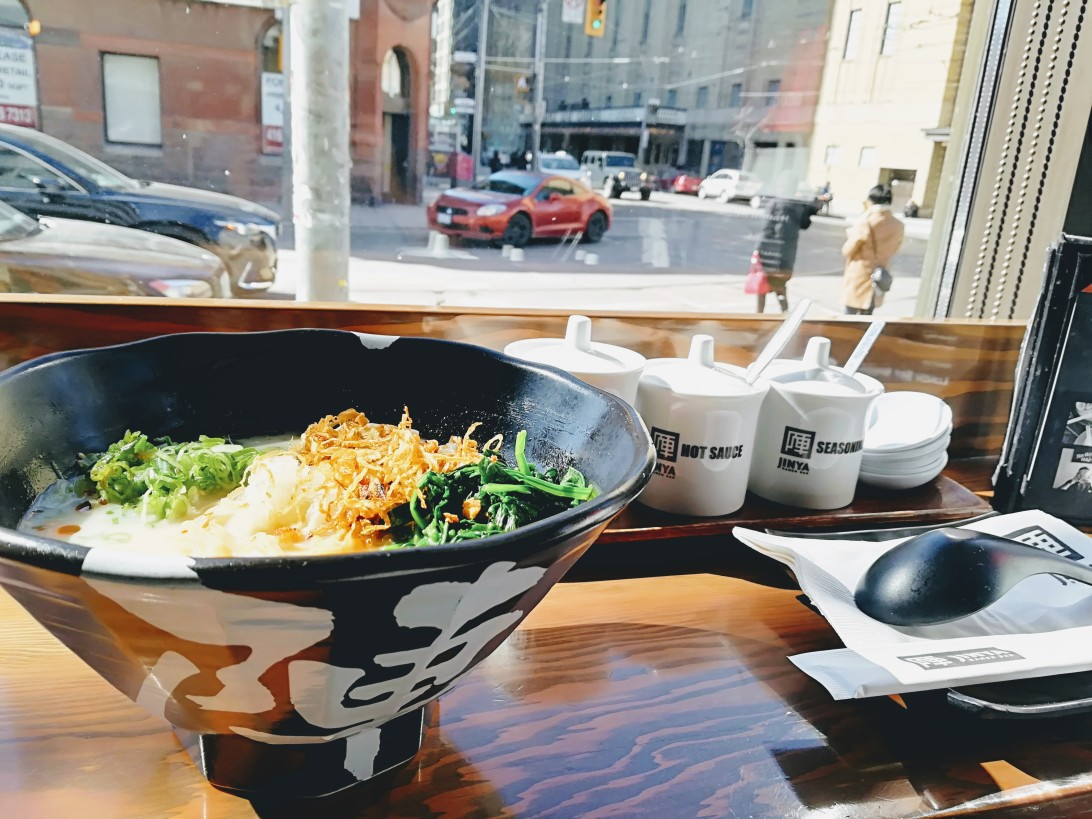 Ramen tastes better in the winter - Danielle Geva