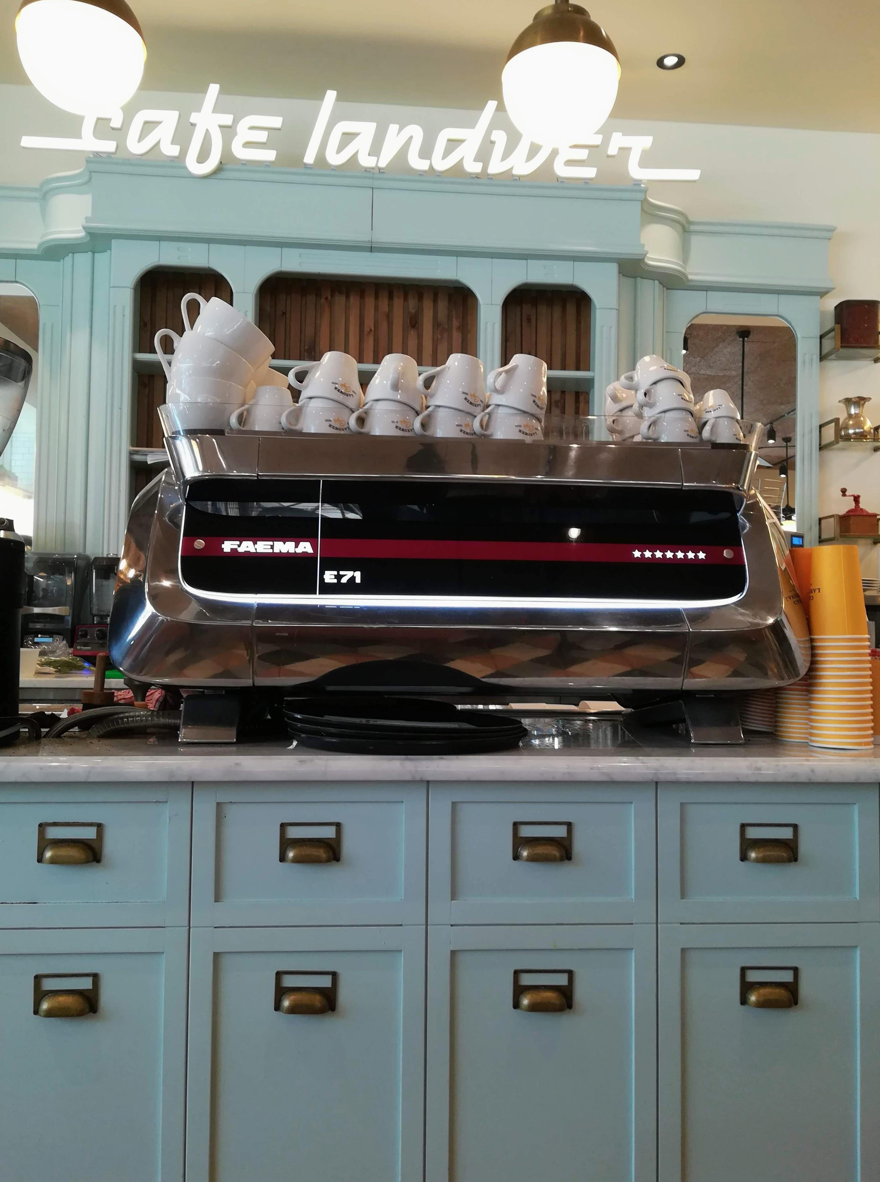 Brunch at Cafe Landwer