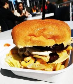 Veg Food Fest 17 burger