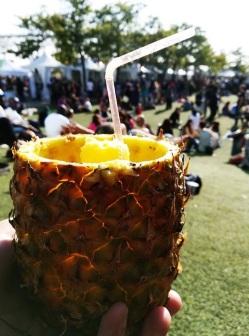 Veg Food Fest 17 pineapple